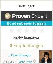 Erfahrungen & Bewertungen zu Doris Jäger