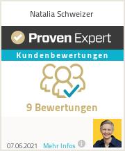 Erfahrungen & Bewertungen zu Natalia Schweizer