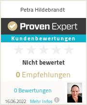 Erfahrungen & Bewertungen zu Petra Hildebrandt