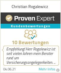 Erfahrungen & Bewertungen zu Christian Rogalewicz