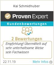 Erfahrungen & Bewertungen zu Kai Schmidhuber