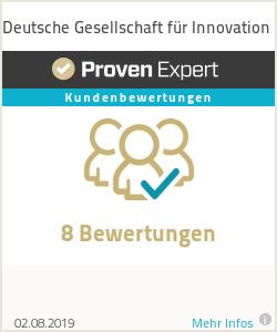 Erfahrungen & Bewertungen zu Deutsche Gesellschaft für Innovation