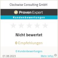 Erfahrungen & Bewertungen zu Clockwise Consulting GmbH