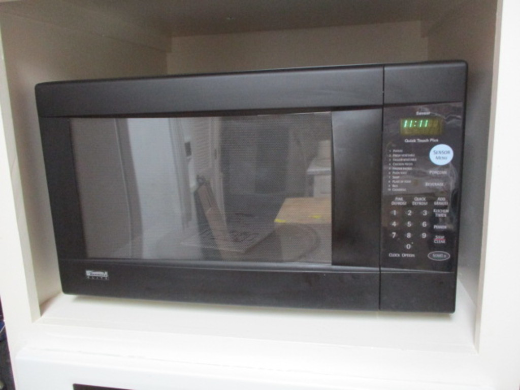 kenmore elite countertop microwave oven