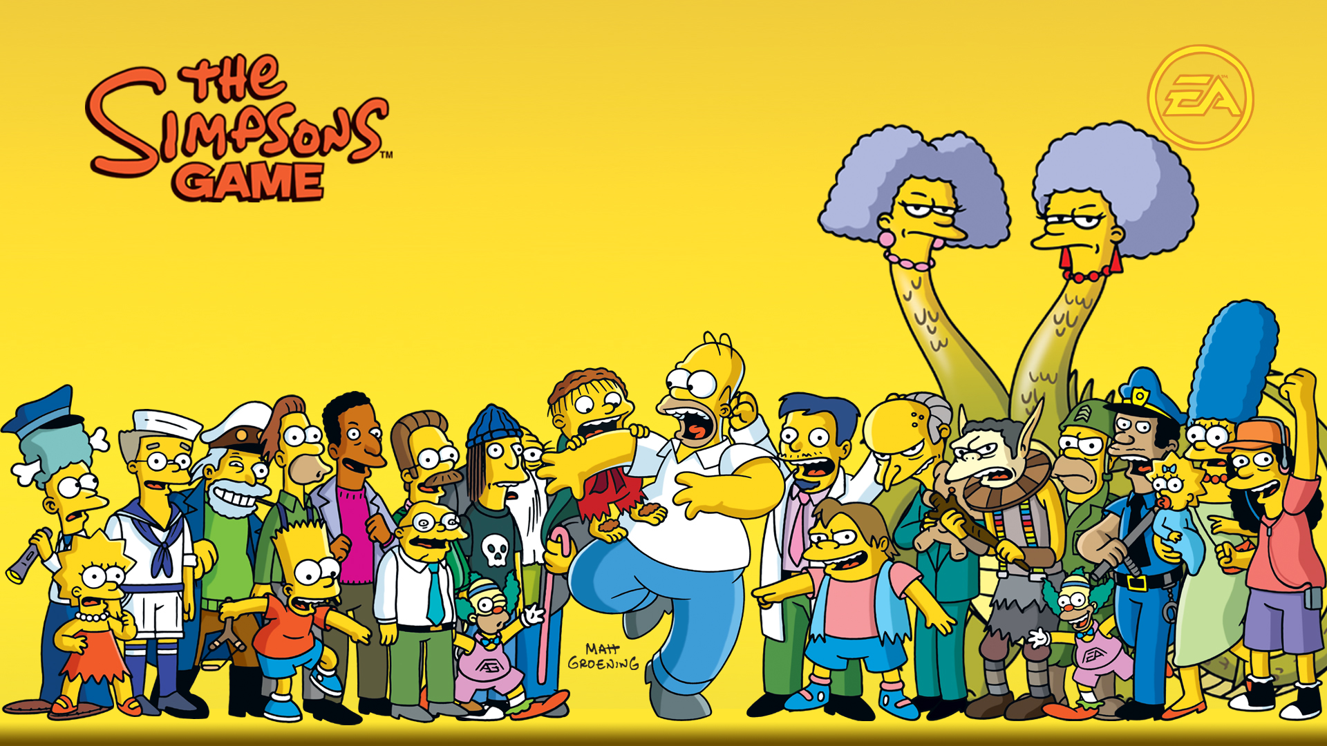 This is a The Simpsons wallpaper. This The Simpsons background can be used