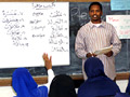 An Arabic class at the school - this is yet another reason to keep specific languages out of PUBLIC SCHOOLS.  If not, then I demand that Russian, German and Hebrew be taught also.