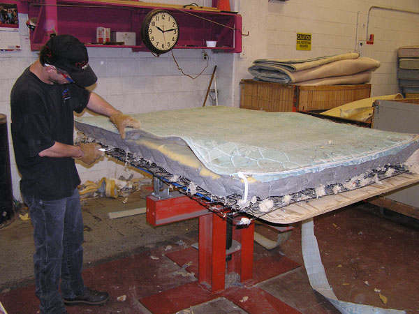 Mattress Recycling Keeps Box Springs Out Of The Landfill