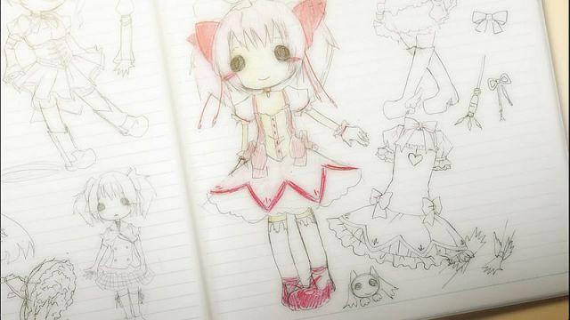 Puella Magi Madoka Magica Review Sketch