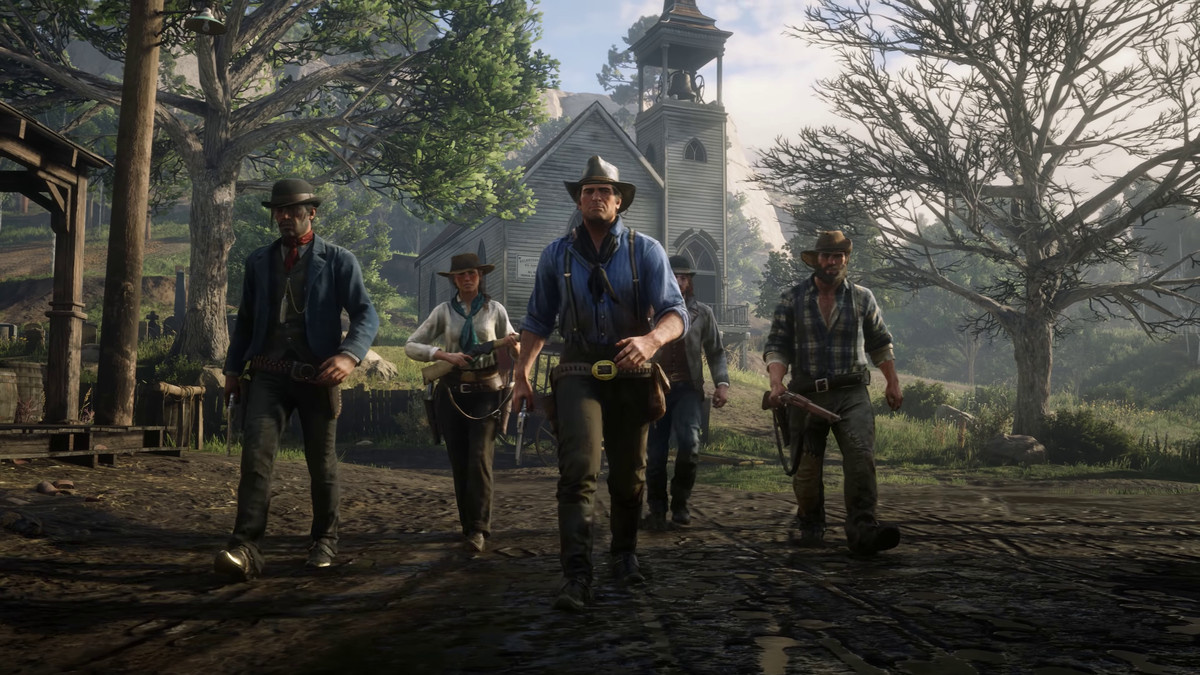 Red Dead Redemption 2 Will Require 105GB Of Storage Space