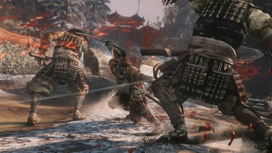 نتيجة بحث الصور عن ‪Sekiro: Shadows Die Twice Chasing Slice‬‏