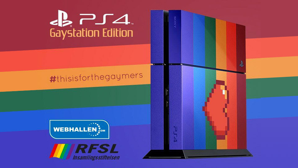 That Rainbow PS4 Raised A Truckload Of Money For Charity Push Square