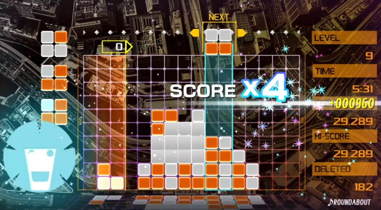 Image result for lumines remastered screenshots