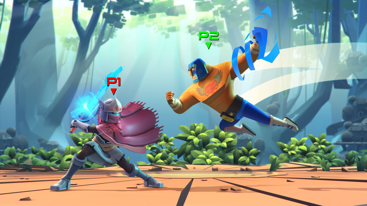 Fun Looking PS4 Fighter Brawlout Gets Guacamelee And Hyper