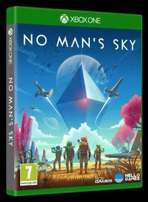No Man's Sky Xbox One Box Art
