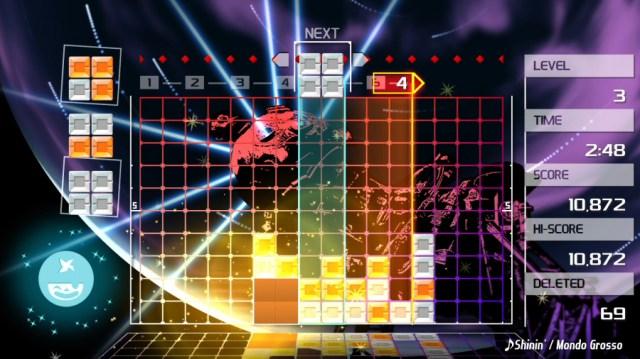 Lumines Remastered PS4 PlayStation 4
