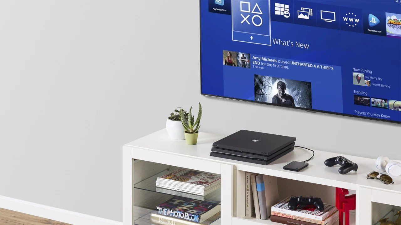 Pay A Premium For The PlayStation Logo On A Licensed Seagate PS4 Hard Drive Push Square
