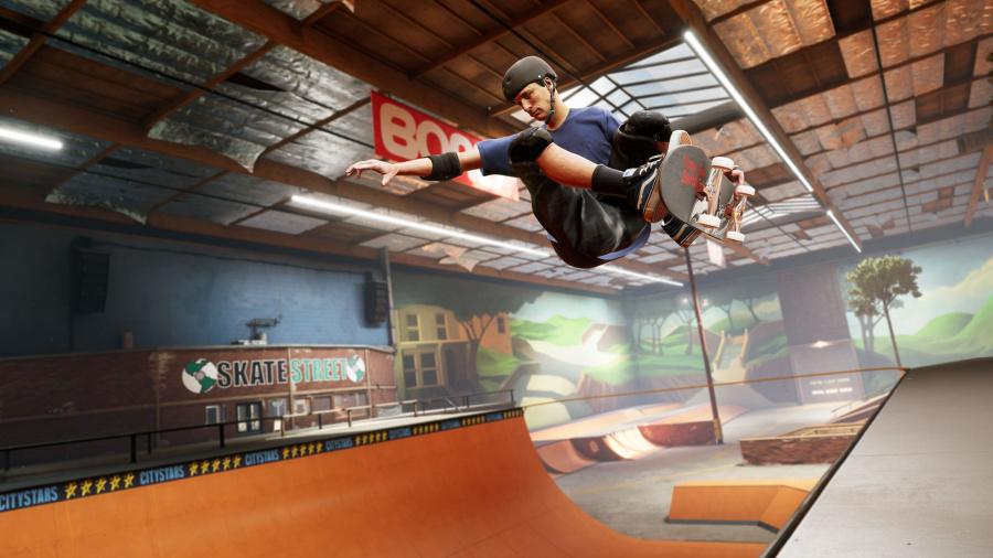 Revisión de Tony Hawk's Pro Skater 1 + 2 - Captura de pantalla 1 de 6