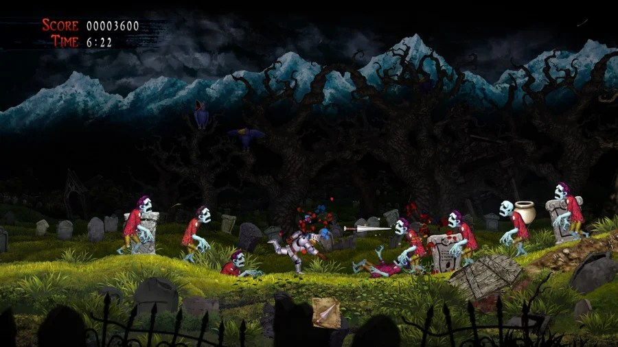 Revisión de la resurrección de Ghosts 'n Goblins - Captura de pantalla 1 de 6