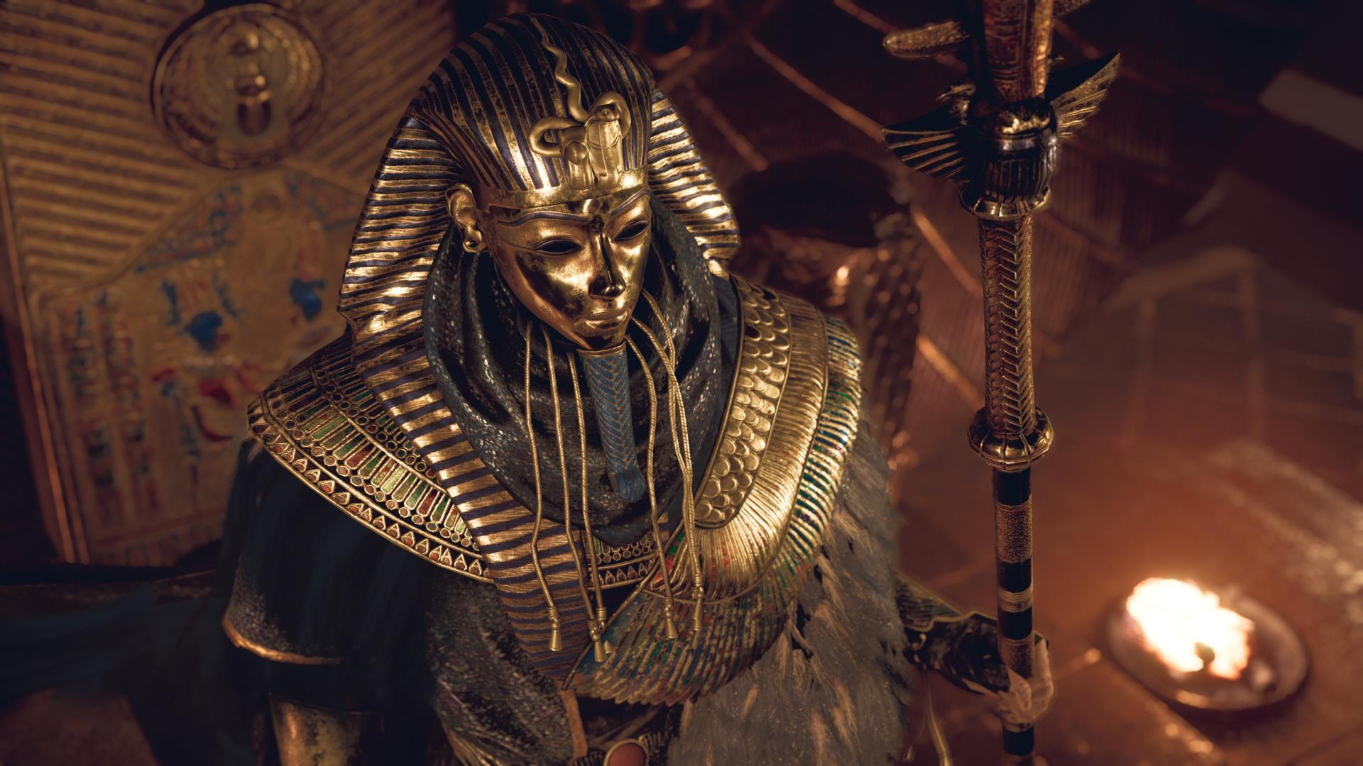 Assassins Creed Origins Curse Of The Pharaohs PS4