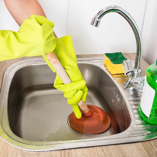 how to unblock a kitchen sink 7