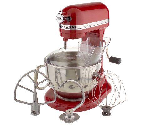 KitchenAid 6 Qt 525 Watt Professional Stand Mixer