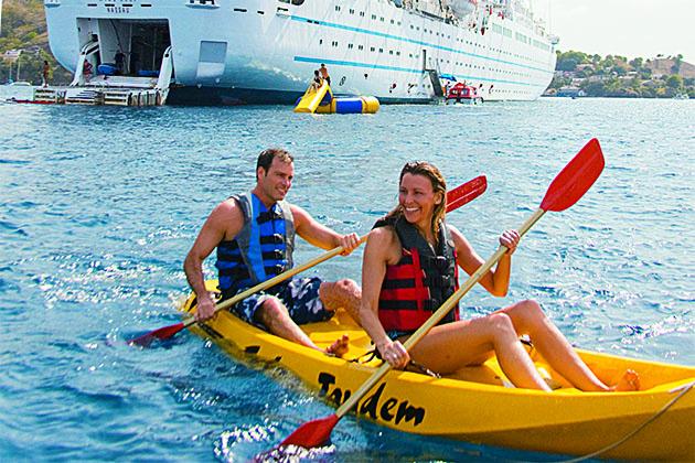 Windstar Cruise Watersports Platform