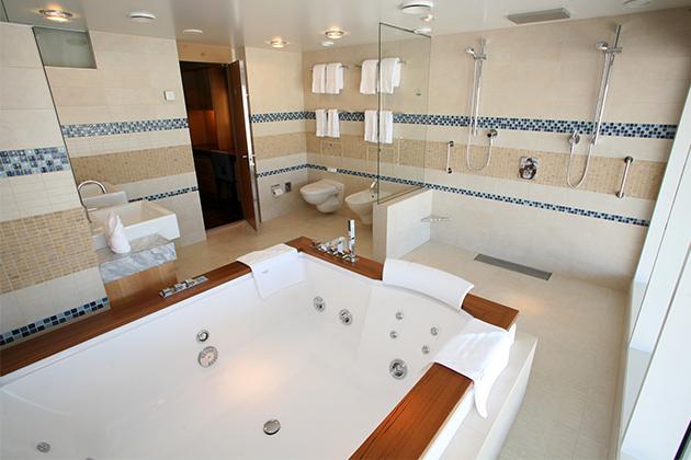 7 Jaw Dropping Cruise Ship Bathrooms Cruise Critic