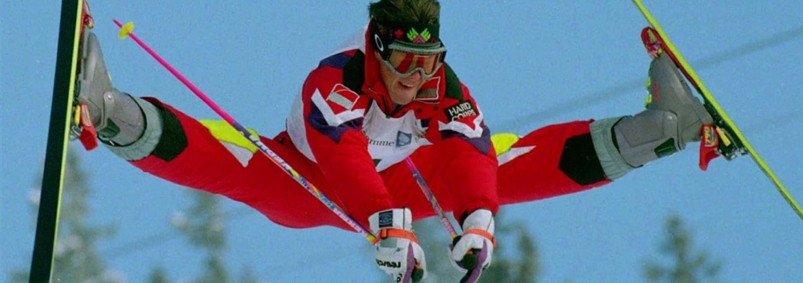 Jean-Luc Brassard at the Lillehammer Olympics in 1994