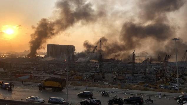 Explosions à Beyrouth: les Libanais de Montréal inquiets pour leurs proches