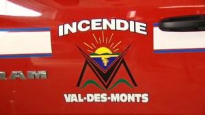 Les pompiers de Val-des-Monts ne peuvent agir comme premiers répondants