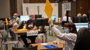 La vaccination sans rendez-vous au Palais des congrès de Gatineau suspendue