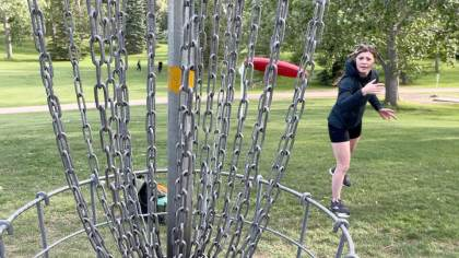 The golf disc, an exercise to find