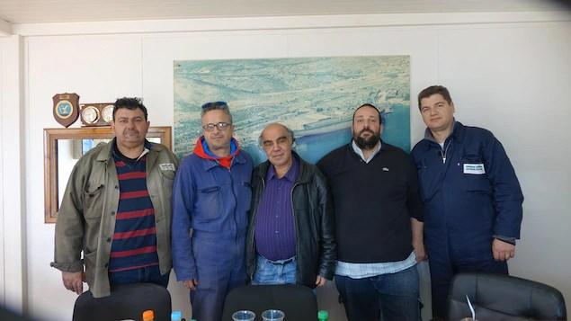 Le syndicat du chantier naval d'Elefsina
