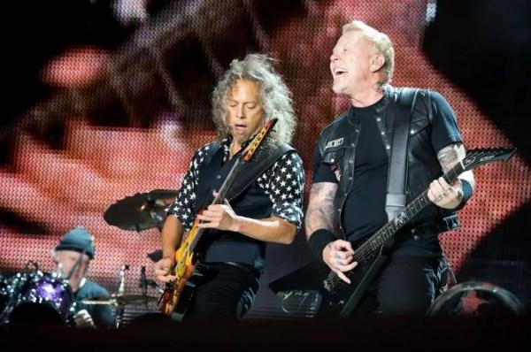 James Hetfield Kirk Hammett Give Fans a Tour of Metallica HQ