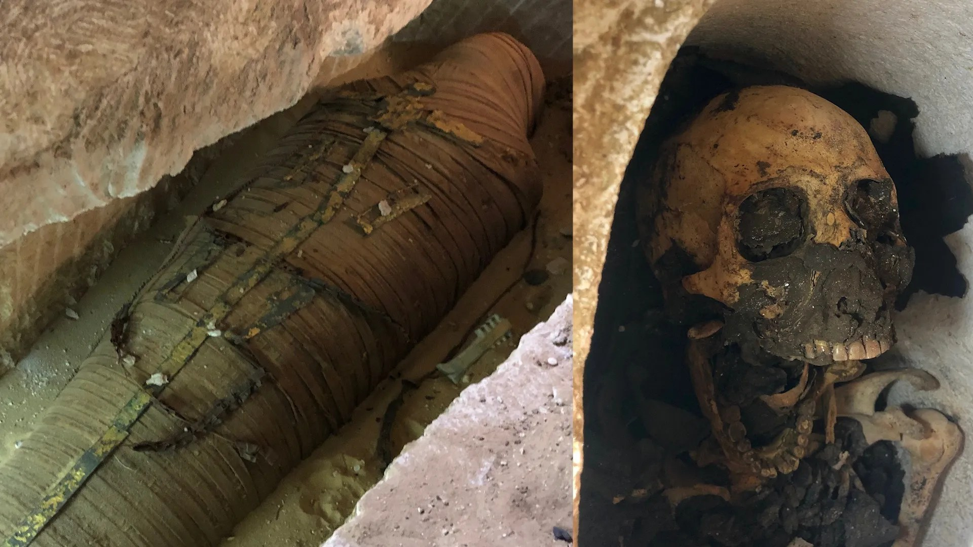 2 500 Year Old Mummy Discovered In Egypt