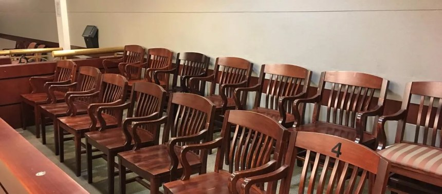 Man accused of killing South Philly grandmother faces jury jury 20box 20cjc