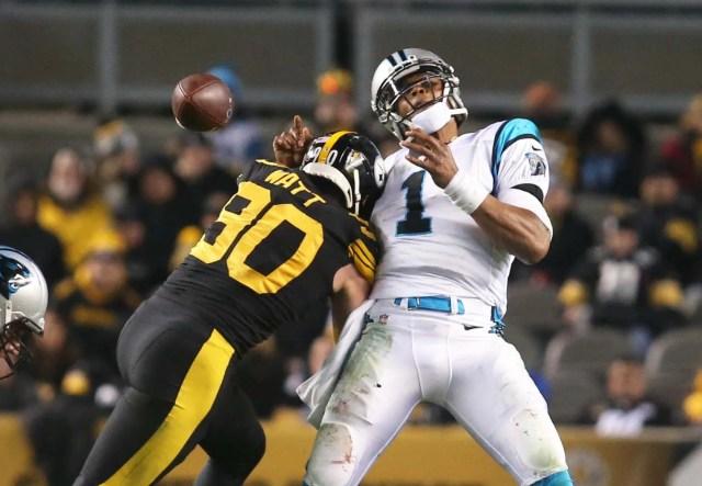 Cam Newton Brushes Off Shoulder Injury | WFNZ | 102.5 FM 610 AM ...