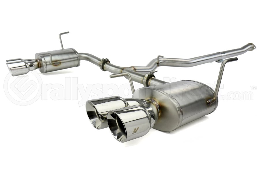 mishimoto stainless steel cat back exhaust