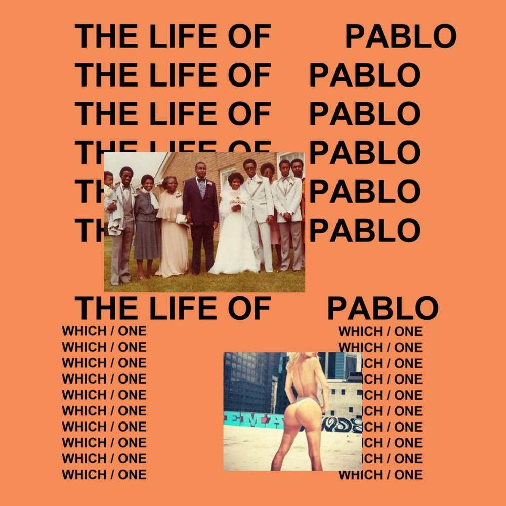 Image result for the life of pablo album cover
