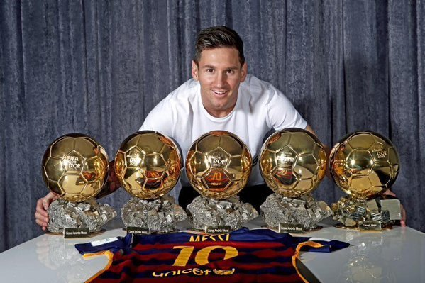 Image result for lionel messi trophies