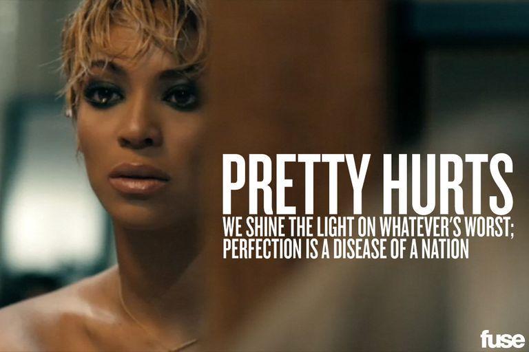 Beyoncé – Pretty Hurts Lyrics