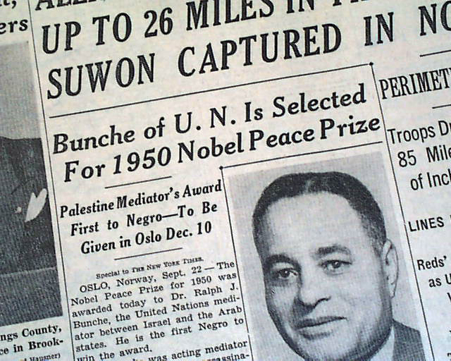 Image result for ralph bunche