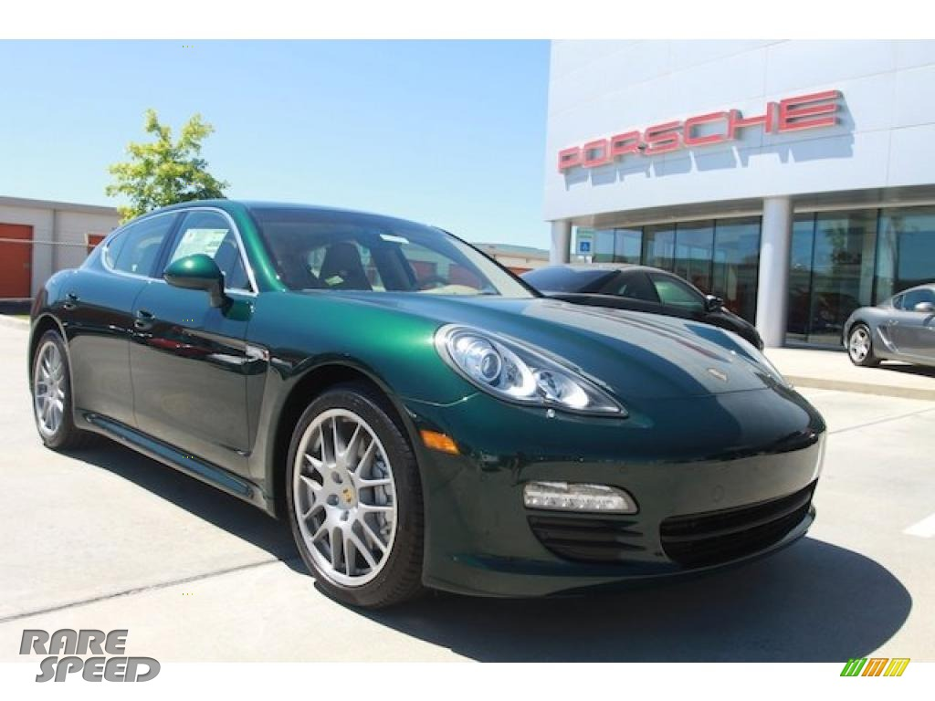 2010 Porsche Panamera S In Jet Green Metallic 064381