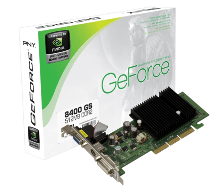 PNY NVIDIA GeForce 8400 GS PCI E Graphics Card   512MB Reviews     PNY NVIDIA GeForce 8400 GS PCI E Graphics Card   512MB