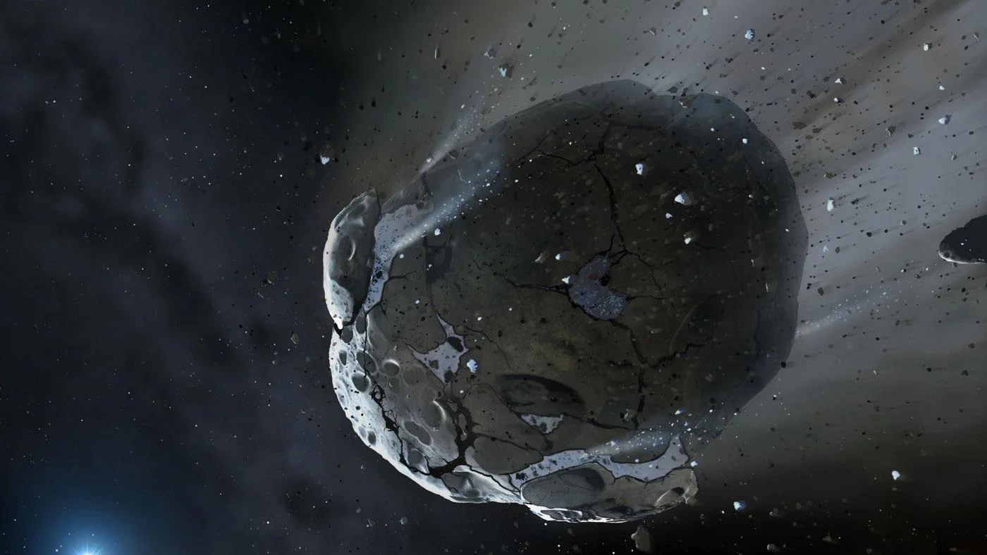 How Are Asteroids Formed Referencecom