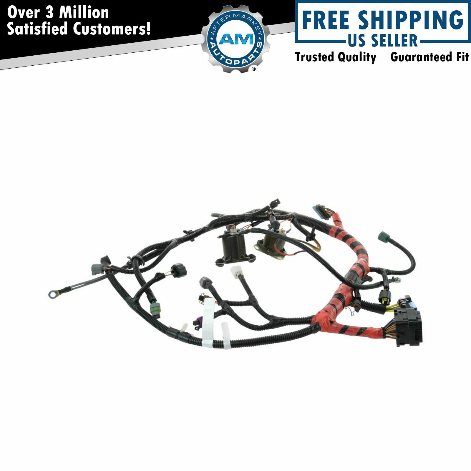Oem F81z12b637fa Main Engine Wiring Harness For Super Duty
