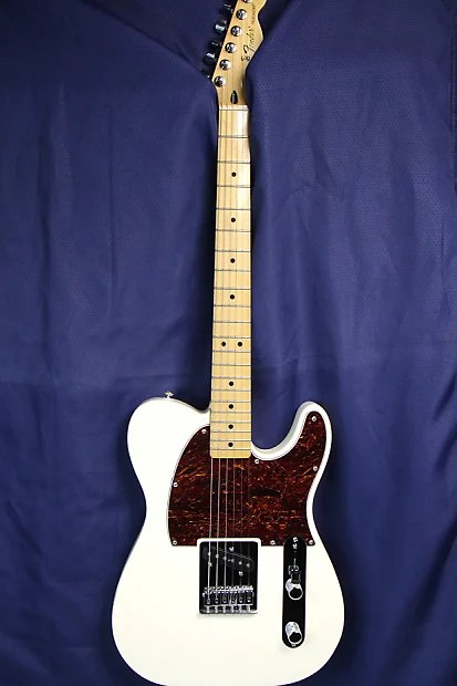 Free Ship Fender Esquire Telecaster 50s Olympic White