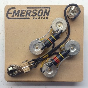 Emerson Custom Prewired SG Wiring Harness | Reverb