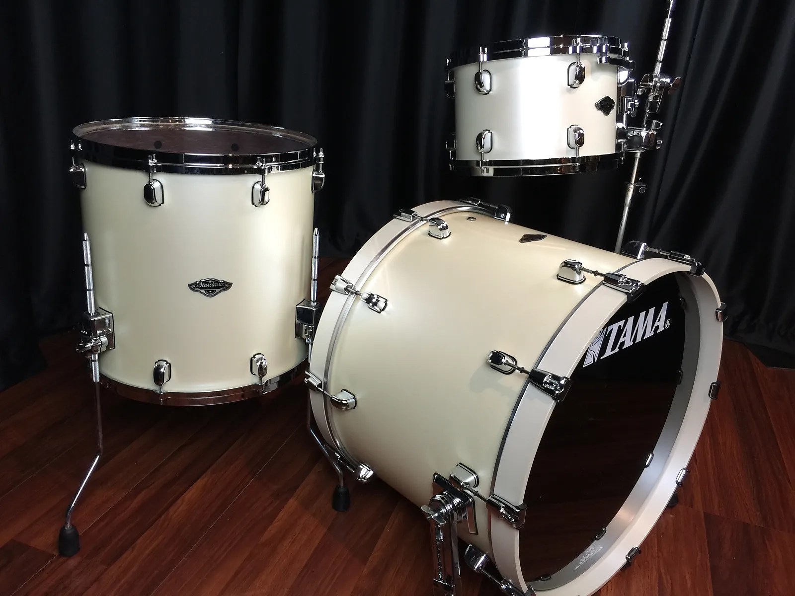 Tama drums sets Starclassic Bubinga Birch Satin Pearl White BB 3pc     Tama drums sets Starclassic Bubinga Birch Satin Pearl White BB 3pc set  PP32RZS SPW New