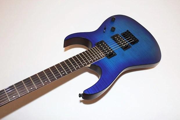 Ibanez Rg Fm Sapphire Blue Electric Guitar